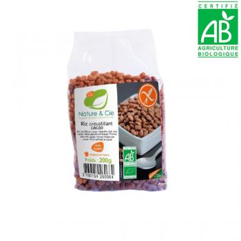 Riz croustillant cacao sans gluten - BIO - 200g