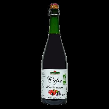 Cidre & Fruits rouges 75 cl