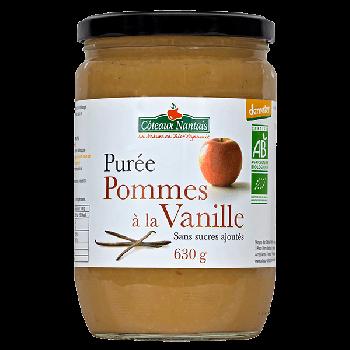 Purée pommes vanille 630 g