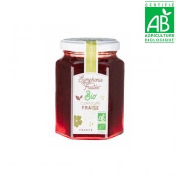 Confiture FRAISE 60% - BIO - 290ml