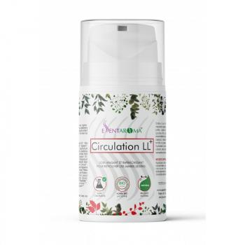 Crème 100% naturelle CIRCULATION LL+ BIO 100ml -jambes légères et plus toniques.