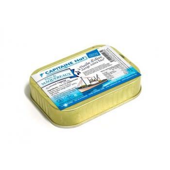 CAPITAINE NAT - maquereaux filets huile d'olive boite 1/6 115g