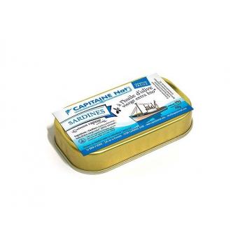 CAPITAINE NAT - sardines huile d'olive boite 1/10 69g
