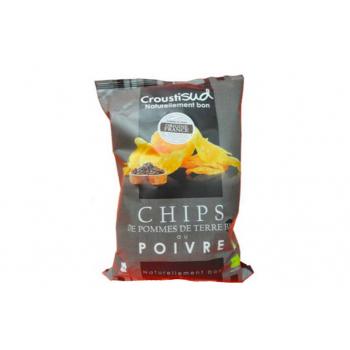 CROUSTISUD - chips de pomme de terre bio au poivre