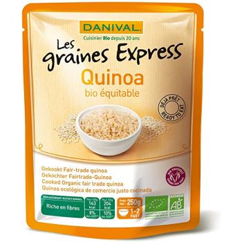 DANIVAL - quinoa français 250g (DLC COURTE 10/12/2020)