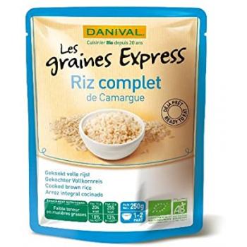 DANIVAL - riz complet 250g