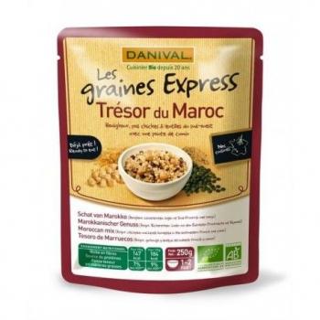 DANIVAL - trésor du maroc (boulgour, pois chiche, lentilles et cumin) 250g