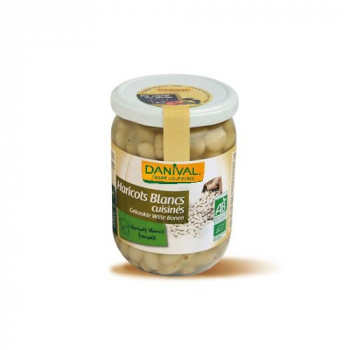 DANIVAL - haricots blancs 400g