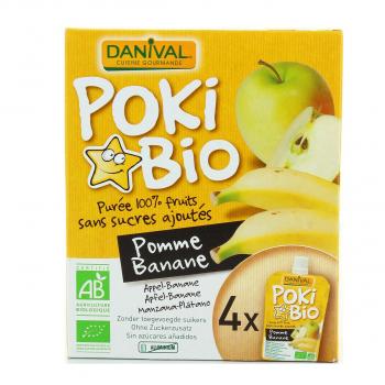 DANIVAL - poki pomme-banane 4x90g