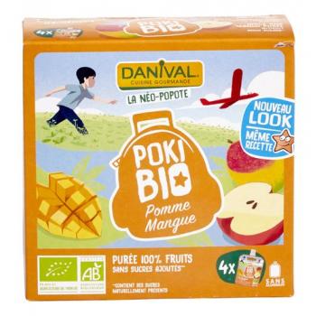 DANIVAL - poki pomme-mangue 4x90g