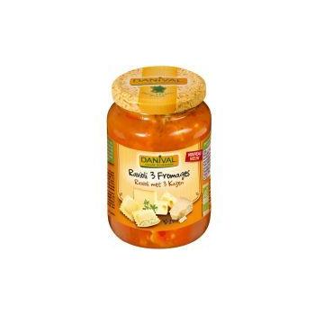 DANIVAL - ravioli 3 fromages 670g