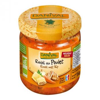 DANIVAL - ravioli au poulet 670g