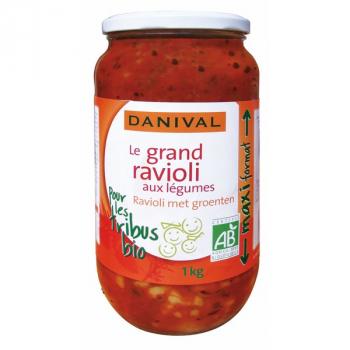 DANIVAL - ravioli aux légumes maxi format 1kg