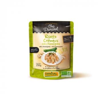 DANIVAL - risotto crémeux aux champignons 250g