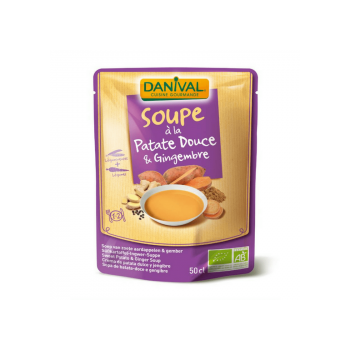 DANIVAL - soupe patate douce & gingembre 50cl
