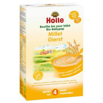 HOLLE - bouillie de millet 250g