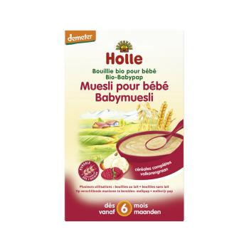 HOLLE - bouillie muesli demeter - - Dès 4 mois