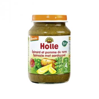 HOLLE - epinard-pomme de terre 190g