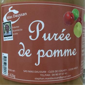 MAS DAUSSAN - purée de pomme 1,620kg