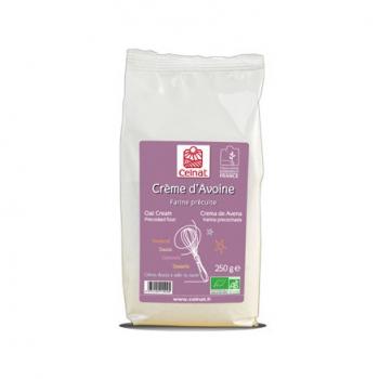 CELNAT - farine precuite d'avoine (crème)
