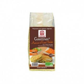 CELNAT - préparation pour galettes veggie avoine et fines herbes