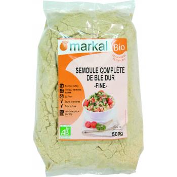 MARKAL - semoule complète de blé dur fine