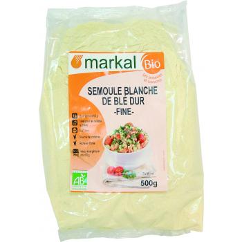 MARKAL - semoule blanche de blé dur fine