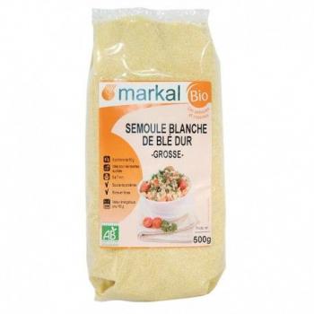 MARKAL - semoule blanche de blé dur grosse