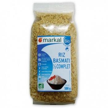 MARKAL - riz basmati 1/2 complet
