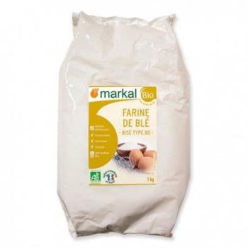 MARKAL - farine de blé - type 80 bise