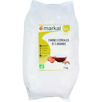 MARKAL - farine 5 céréales et 3 graines