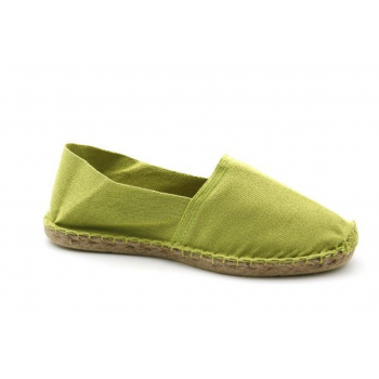 Espadrilles Unies Anis - Made in France