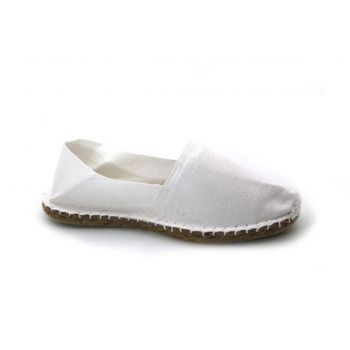 Espadrilles Unies Blanc - Made in France