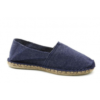 Espadrilles Unies Jeans - Made in France