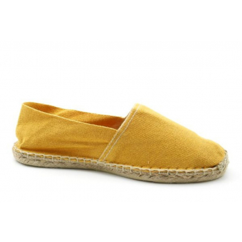 Espadrilles Unies Moutarde - Made in France