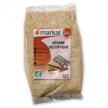 MARKAL - sésame décortiqué 3kg