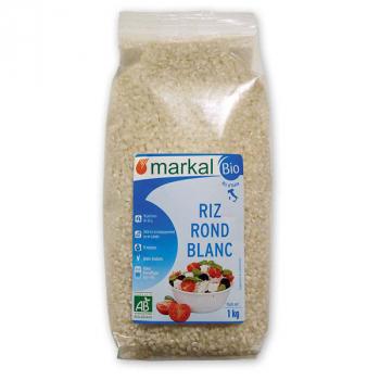 MARKAL - riz rond blanc 5kg
