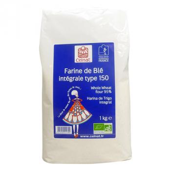 CELNAT - farine blé intégrale t150