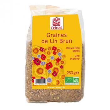 CELNAT - graines de lin brun