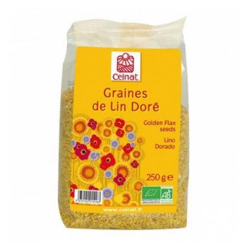 CELNAT - graines de lin doré