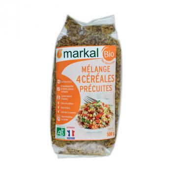 MARKAL - mélange 4 céréales précuites