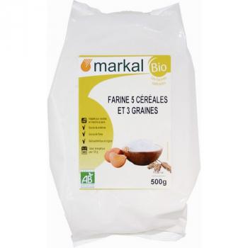 MARKAL - farine 5 cereales et 3 graines