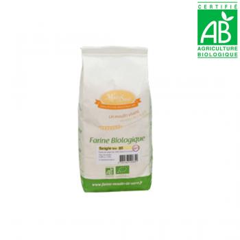 Farine de SEIGLE crème T85 - BIO - 1kg