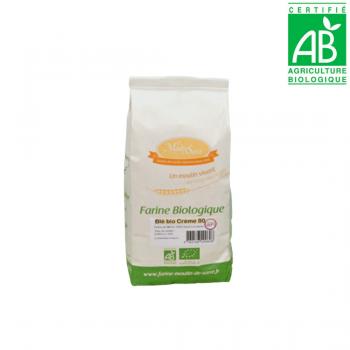Farine de BLE crème T80 - BIO - 1kg
