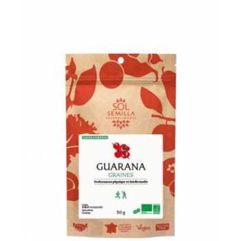 Guarana BIO - Graines - 50g