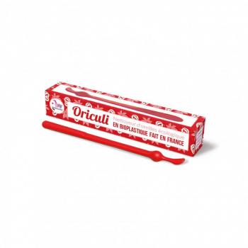 Oriculi en bioplastique - LAMAZUNA Rouge
