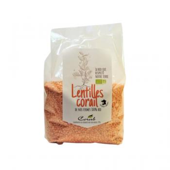 Lentilles corail - BIO - 500g
