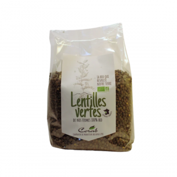 Lentilles vertes - BIO - 500g