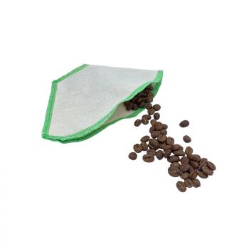 Filtre à café lavable -Vert - Le Loup Pointu