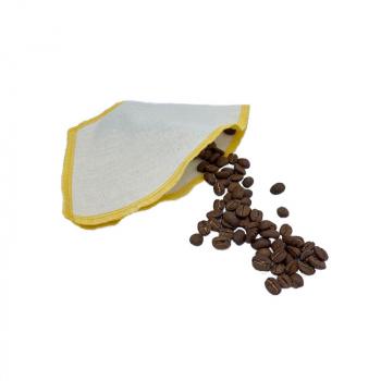 Filtre à café lavable - Jaune - Le Loup Pointu